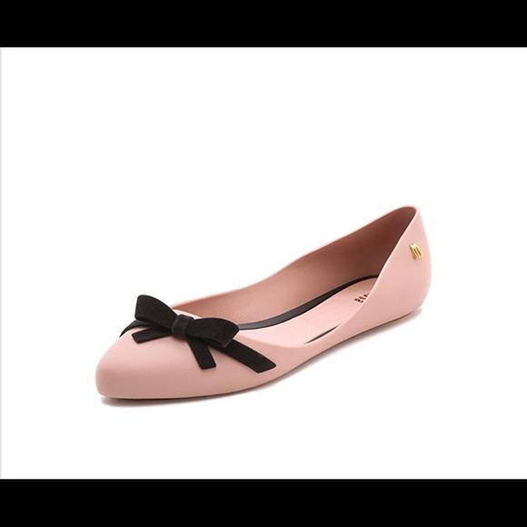 2be21f35ff07 Melissa Trippy flats in pink size 6. M 5a6c1838c9fcdfa042e2e414